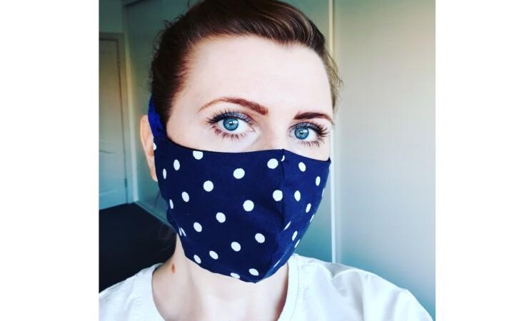 Dovilė Šakalienė. Kaukės: gamyba, dėvėjimas, sterilizavimas